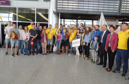У Львові зустріли переможців волейбольної Євроліги-2017