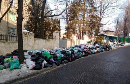 У Львові лишилось 8% невивезеного сміття