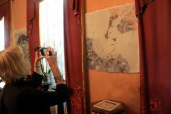 У Львові стартувала унікальна виставка художнього розпису шовку (ФОТО)