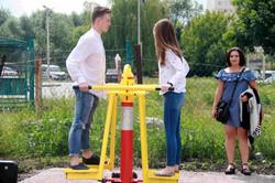 У Львові з`явився новий обладнаний тренажерами майданчик просто неба (ФОТО)
