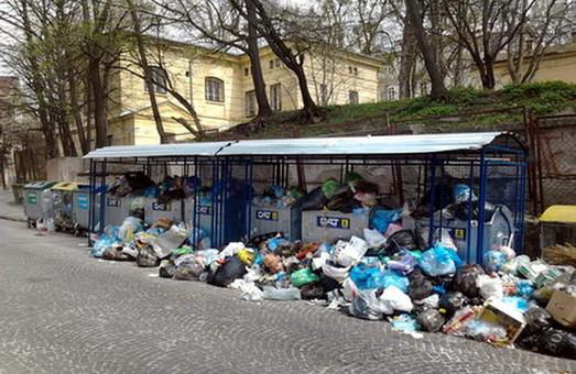 Львів обіцяють очистити від сміття Садового до четверга