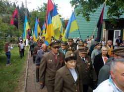 На Львівщині відсвяткували 73-річчя створення УГВР