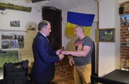 Боєць добровольчого батальйону «Донбас» отримав орден «За мужність»