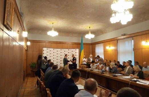 У Львові нагородили поліцейських, які знешкодили психічно неврівноваженого
