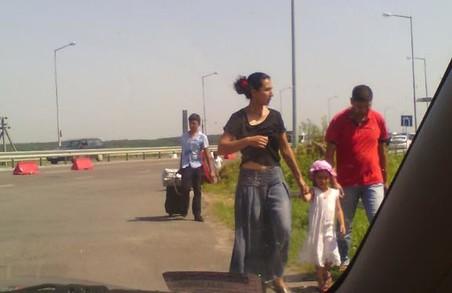 Цигани живуть без віз та кордонів. Випадок на пропускному пункті «Краківець»