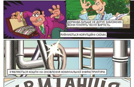 Через комікси персонажі мультфільму «Як козаки…» розповіли, що думають про тарифи