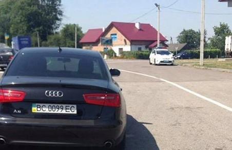 На Львівщині затримали п'яного нардепа
