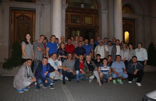 Численна делегація з Львівщини вирушила на схід України