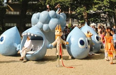У Моршині відтепер є авангардна скульптурна група