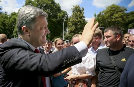 Президент України відвідає Львівщину