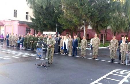 Як Міністр оборони відкривав Навчальний центр Військової служби правопорядку на Львівщині