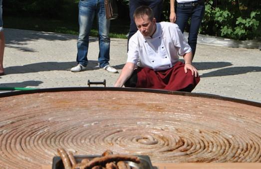 На Львівщині планують виготовити рекордну ковбасу