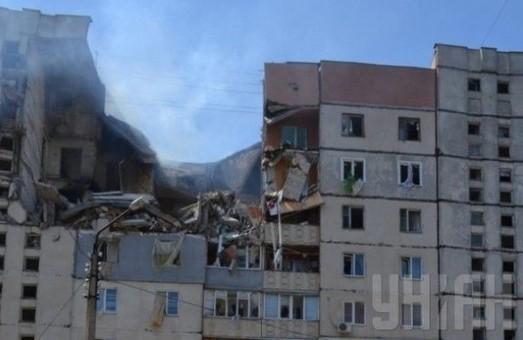 У наслідок вибуху будинку у Миколаєві є тяжко поранені