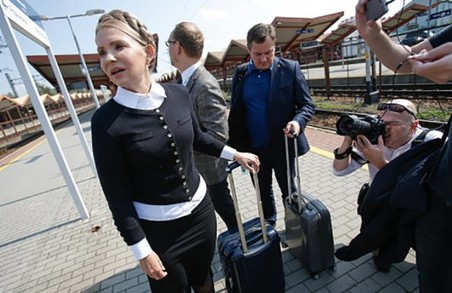 У листопаді суд розглядатиме справу про незаконний перетин кордону Юлією Тимошенко