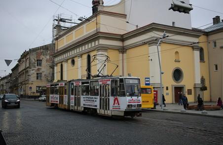 У Львові хочуть облаштувати трамвайну колію з лівостороннім рухом