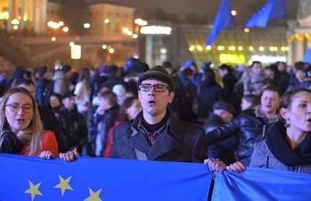 Евромайдан листопада 2013 у фото та твітах того часу