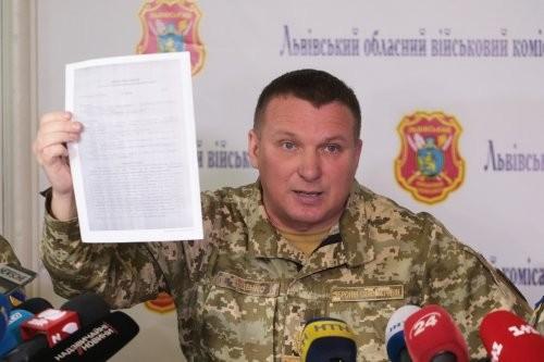 Військком Тіщенко пообіцяв відновити публічний доступ до списку ухилістів