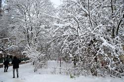 Львів засипало снігом (ФОТО)