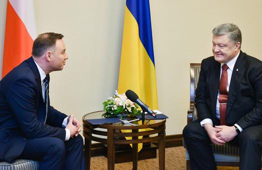 Українсько-польські перемовини: Порошенко та Дуда обговорили введення миротворців на окуповані території