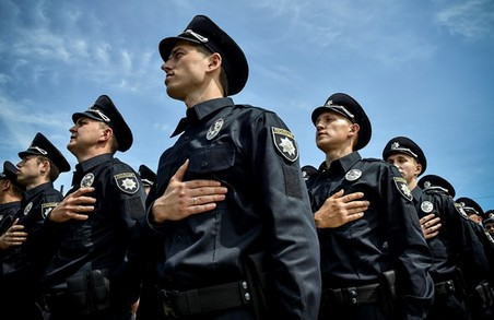 Майже півсотні нових поліціянтів повинні забезпечити безпеку на Тернопільщині