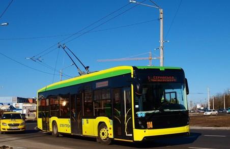 Тимчасово призупинено рух деяких тролейбусів на Львівщині