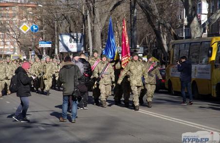 В Одесі відбувся парад ветеранів АТО: фото, відео