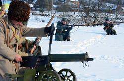 На Львівщині відтворили бої 1919 року між вояками УГА та польською армією (ФОТО)