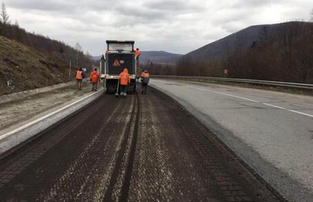 Шляховики приступилися до ремонту магістралі Київ – Чоп