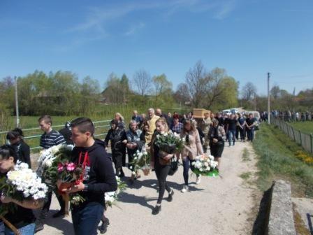 На Львівщині попрощалися з учасником АТО, який загинув у Польщі
