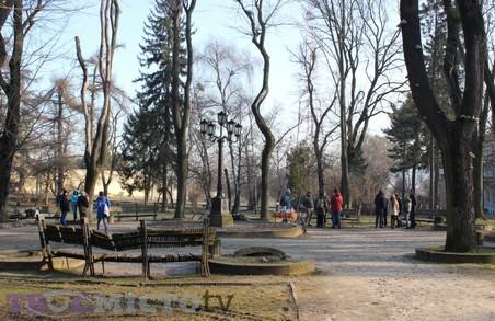 У сквері Святого Юра облаштують майданчик для дітей з будинком на дереві за 55 тисяч