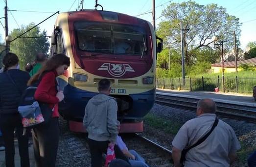 На Львівщині люди перекривали залізничну колію