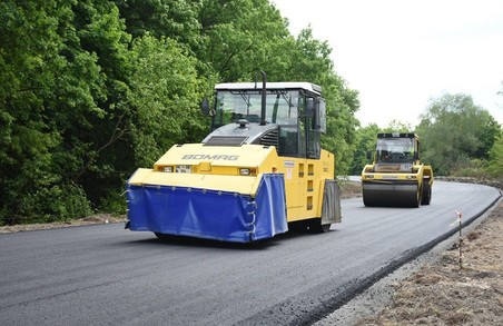 На Львівщині ремонтують дорогу «Нижанковичі-Самбір-Дрогобич-Стрий»