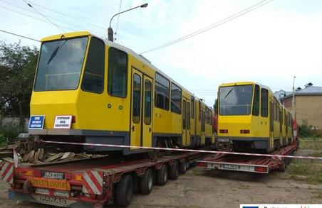 До Львова привезли трамваї з Німеччини