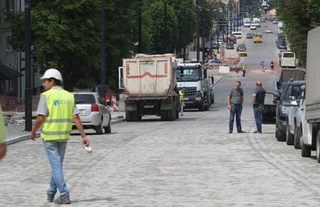 Коли відкриють вулицю Личаківську: офіційно