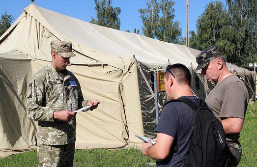 Львівські резервісти проходять збори за участі НАТО