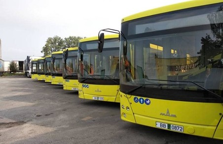 У Львів привезли перші білоруські автобуси