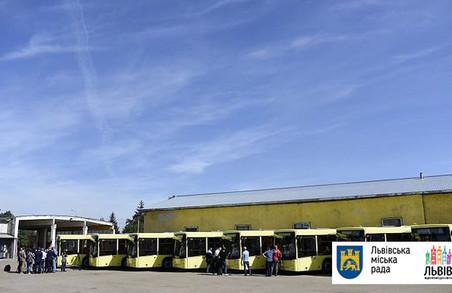 Стало відомо, на яких маршрутах курсуватимуть новенькі автобуси МАЗ