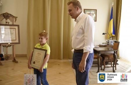 Третьокласник зі Львова врятував товарища з води