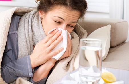 За минулий тиждень на Львівщині на грип захворіли понад 10 тисяч людей