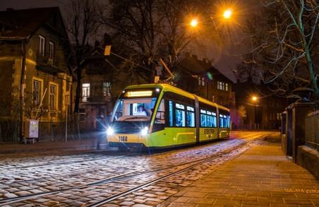 У різдвяний час у львівських трамваях лунатимуть колядки
