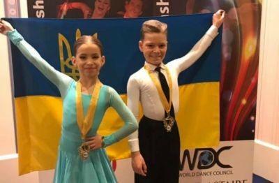 Діти із Львівщини стали абсолютними чемпіонами світу з танців
