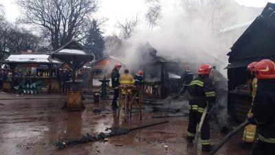 Винуватцям у пожежі на ярмарку грозить 8 років ув'язнення
