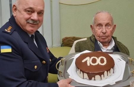 Вогнеборець із Львівщини відсвяткував своє століття