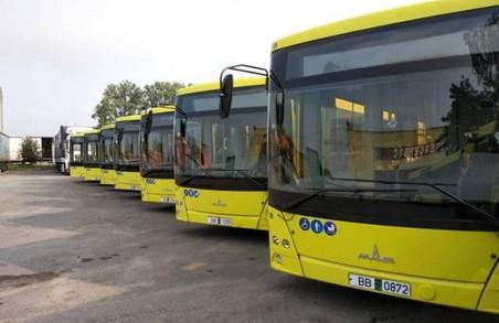На Сихів курсуватимуть 10 великих автобусів