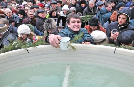 Розклад богослужінь у львівських храмах, де можна буде освятити воду