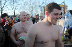 Українські десантники взяли участь у святкуванні Водохреща