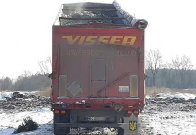 Слідом за господарем? Львівське сміття знайшли на Київщині