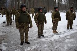 Військовослужбовці провели стрільби із пістолета Макарова