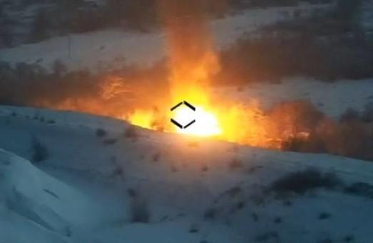 Українські вояки знищили зенітну установку ворога та мінометну батарею