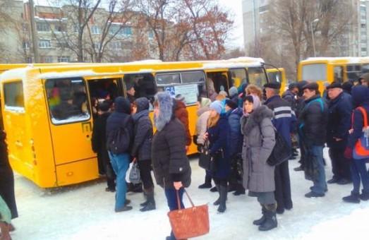 Львів'яни протестують проти здорожчання проїзду у маршрутках